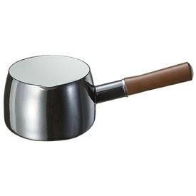 高木金属工業 ホーローミルクパン 「オニキス」(1.2L) ON-14M[ON14Mミルクパン14]