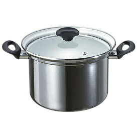 高木金属工業 ホーロー深型鍋 「オニキス」(6.3L) ON-22F[ON22Fフカガタナベ22]