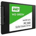 【送料無料】 WESTERNDIGITAL(ウエスタン WD Green WDS240G1G0A (SSD/2.5インチ/240GB/SATA)