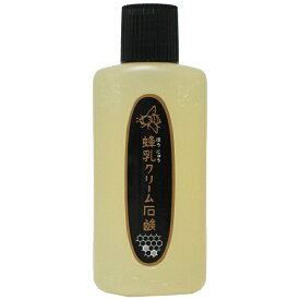 蜂乳 honyu 蜂乳 クリーム石鹸(180cc) [洗顔フォーム]【wtcool】