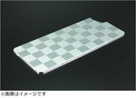 GILD design ギルドデザイン iPhone 7用ソリッドバンパー対応 アルミパネル市松 シルバー 42038 GI-309S