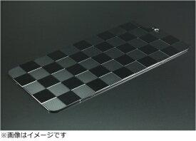 GILD design ギルドデザイン iPhone 7 Plus用ソリッドバンパー対応 アルミパネル市松 ブラック 42044 GI-310B