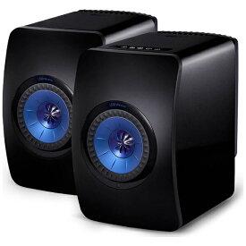 KEF ケーイーエフ WiFiスピーカー ブラック LS50WIRELESS B [ハイレゾ対応 /Bluetooth対応 /Wi-Fi対応][LS50WIRELESSB]