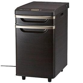ツインバード TWINBIRD 《基本設置料金セット》HR-D282BR 冷蔵庫 ブラウン [2ドア /引き出しタイプ /17L][HRD282BR_BR]