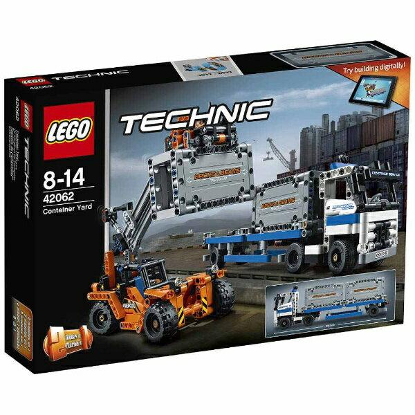 【送料無料】 レゴジャパン LEGO(レゴ) 42062 テクニック コンテナトラック & ローダー