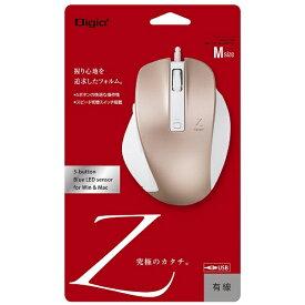 ナカバヤシ Nakabayashi MUS-UKF130P マウス Digio2 Zシリーズ ピンク [BlueLED /5ボタン /USB /有線][MUSUKF130P]