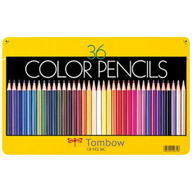 トンボ鉛筆 Tombow 色鉛筆 36色