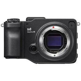 シグマ SIGMA sd Quattro H ミラーレス一眼カメラ [ボディ単体][SDQUATTROH]