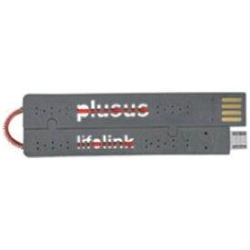 日本ポステック JPT [micro USB]USBケーブル 充電・転送 (カードサイズ・グレー)LIFE LINK micro USB