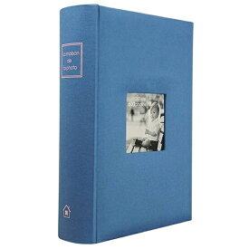 万丈 VANJOH メガアルバム600 メゾンシリーズ(セルリアンブルー) MS-600BL[MS600BL]