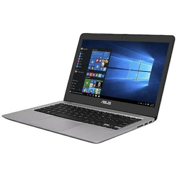 【送料無料】 ASUS 13.3型ノートPC [Win10 Home・Core i5・SSD 256GB・メモリ8GB] ASUS ZenBook UX310UQ クォーツグレー UX310UQ-7200 (2016年12月モデル)[UX310UQ7200]