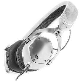 V-MODA ブイモーダ ヘッドホン XS WHITE SILVER ホワイト・シルバー [φ3.5mm ミニプラグ][XSUWS]