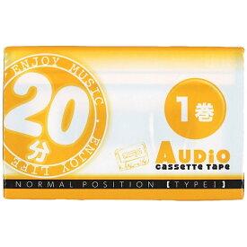 薦田紙工業 Komoda Paper VD108 カセットテープ [1本 /20分 /ノーマルポジション]