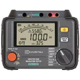 共立電気計器 KYORITSU KYORITSU デジタル高圧絶縁抵抗計 KEW3125A