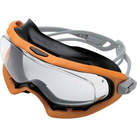 ミドリ安全 MIDORI ANZEN ミドリ安全 VG−503F ゴーグラス オレンジ/ブラック VG-503F-GG-OR/BK
