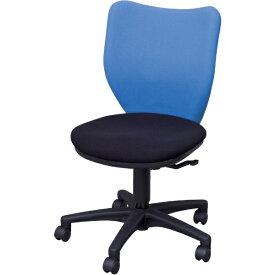 アイリスチトセ IRIS CHITOSE アイリスチトセ オフィスチェア ミドルバックタイプ ブルー・ブラック BIT-BX45-L0-F-BLBK