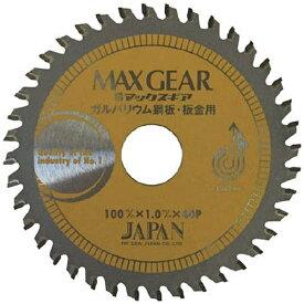 チップソージャパン TIP SAW JAPAN チップソージャパン マックスギア ガルバ・板金用100 MGB-100