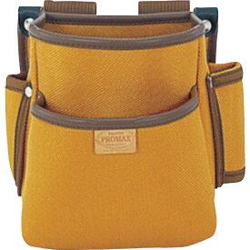 TJMデザイン タジマ プロマックス 電工腰袋(2段)ブラウン PM-DE2《※画像はイメージです。実際の商品とは異なります》