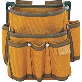 TJMデザイン タジマ プロマックス 電工腰袋(2段/工具差し付)ブラウン PM-DE2K《※画像はイメージです。実際の商品とは異なります》