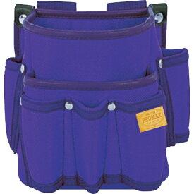 TJMデザイン タジマ プロマックス 電工腰袋(2段/工具差し付)バイオレットブルー PM-DE2KB《※画像はイメージです。実際の商品とは異なります》