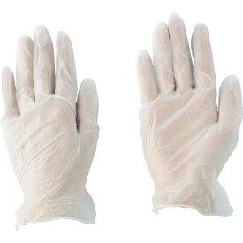 川西工業 川西 ビニール使いきり手袋 粉なし 100枚入り Lサイズ 2023-L