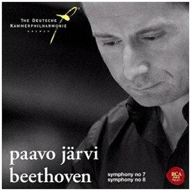 ソニーミュージックマーケティング パーヴォ・ヤルヴィ(cond)/ベートーヴェン:交響曲第7番&第8番 【CD】