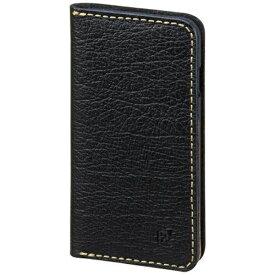 サンクレスト SUNCREST iPhone 7用 手帳型 BZGLAM バッファローレザーカバー ブラック iP7-BZ06