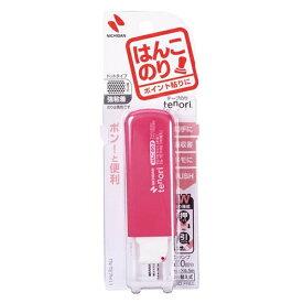 ニチバン NICHIBAN テープのり tenori はんこのりピンク