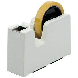 ニチバン NICHIBAN テープカッター タブメーカー アイボリー