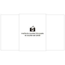 エトランジェ etranger [封筒] EDC 封筒 BASIS (ベイシス) ホワイト (50枚、洋7) EN3-01