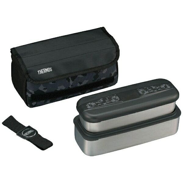 サーモス ランチボックス (上容器380ml、下容器720ml) DSD-1102W-CM カモフラージュ