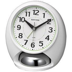 リズム時計 RHYTHM 大音量ベル音目覚まし時計 「タフバトラーラウド」 4RA480SR03 タフバトラーラウド 白(白) 4RA480SR03 [アナログ]