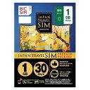 【あす楽対象】 IIJ Nano SIM 「BIC SIM JAPAN TRAVEL SIM/1GB」 Prepaid・Data only・SMS unavai...