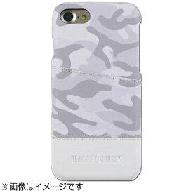 エムディーシー MDC iPhone 7用 BLACK BY MOUSSY アジャストケース 迷彩・ホワイト 2016IP-72148