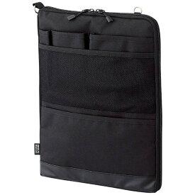 リヒトラブ LIHIT LAB. タブレットPC対応[〜12インチ] バッグインバッグ タテ型 A4サイズ SMART FIT ACTACT A-7683-24 ブラック