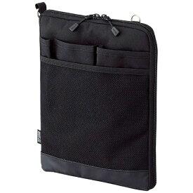 リヒトラブ LIHIT LAB. タブレットPC対応[〜8インチ] バッグインバッグ タテ型 A5サイズ SMART FIT ACTACT A-7682-24 ブラック