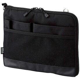 リヒトラブ タブレットPC対応[〜8インチ] バッグインバッグ ヨコ型 A5サイズ SMART FIT ACTACT A-7680-24 ブラック