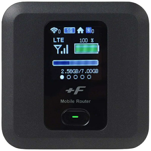 富士ソフト 【エントリーでポイント最大37倍 マラソン期間限定】【SIMフリー】富士ソフト FS030W ブラック [FS030WMB1] LTE/Wi-Fi[無線a/b/g/n/ac]microSIMx1 SIMフリーモバイルルーター[FS030WMB1]