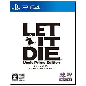 ガンホーオンラインエンターテイメント GungHo Online Entertainment LET IT DIE アンクルプライム エディション【PS4ゲームソフト】