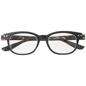 名古屋眼鏡 リーディンググラス カラフルック 5561(ブラック×デミ/+3.50)