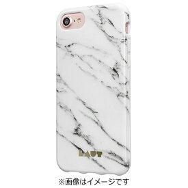 イツワ商事 ITSUWA SHOJI iPhone 7用 LAUT HUEX ELEMENTS マーブルホワイト LAUTIP7HXEMW