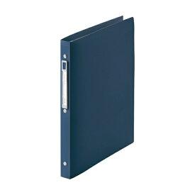 リヒトラブ [ファイル] noie-style クリヤーブック 交換式 ネイビー (A4タテ型・30穴・10ポケット) N-7682-11
