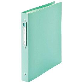 リヒトラブ [ファイル] noie-style クリヤーブック 交換式 ライトグリーン (A4タテ型・30穴・20ポケット) N-7683-19