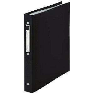 リヒトラブ LIHIT LAB. [ファイル] noie-style クリヤーブック 交換式 ブラック (A4タテ型・30穴・20ポケット) N-7683-24