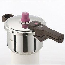ワンダーシェフ Wonder chef ≪IH対応≫ 圧力鍋ガラス蓋付 「あなたと私の圧力魔法鍋」(3.0L) 640512[640512カタテアツリョクナベ3L]