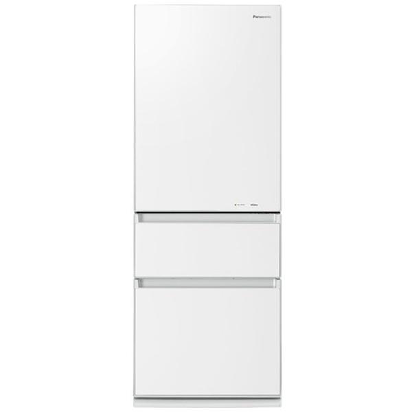 【標準設置費込み】 パナソニック Panasonic 3ドア冷蔵庫 (315L) NR-C32FGM-W スノーホワイト[NRC32FGM_W] panasonic[sssale]
