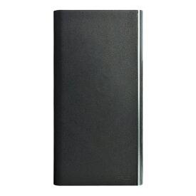 パワーサポート POWER SUPPORT iPhone 7 Plus用 手帳型 Flip Jacket 本牛革ヌメ ブラック PBM-44