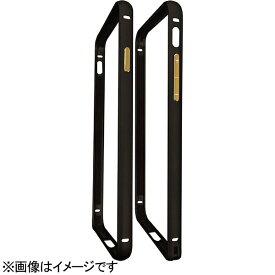 ハセプロ HASEPRO iPhone 7用 バンパーフレーム 表面マット加工 ブラック×ゴールド BFI7-03