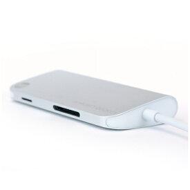 TUNEWEAR [USB-C オス→メス SDカードスロット / micro SDカードスロット / HDMI / LAN / USB-Ax3 / USB-C]3.0変換アダプタ シルバー TUN-OT-000027 ALMIGHTY DOCK C1[TUNOT000027]