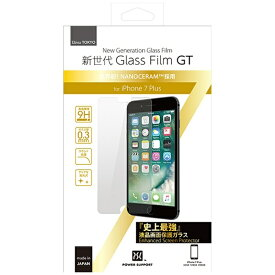パワーサポート POWER SUPPORT iPhone 7 Plus用 新世代 Glass Film GT PBK-05